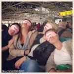 Girls at the airport JGA 2015