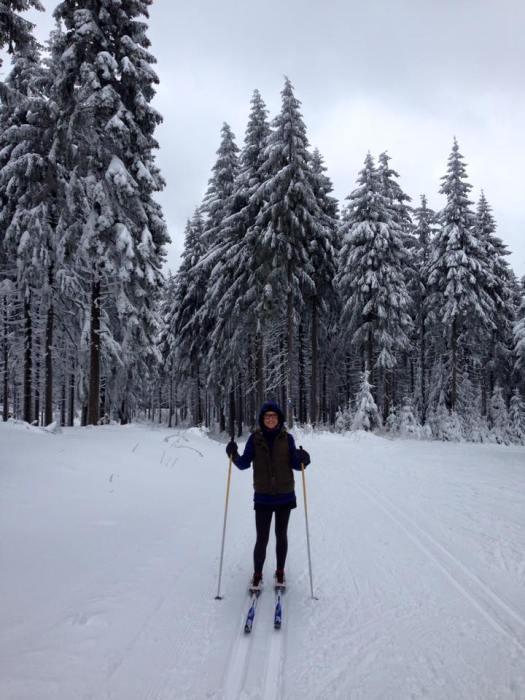 Januar 2015: Skilanglauf