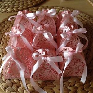 rosa Verpackung